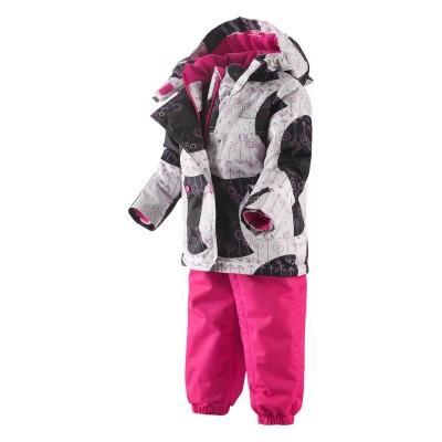 Комплект Reima для девочек зимний muutos 513047-975
