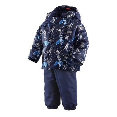 Комплект Reima для мальчиков зимний klapp 513049-644