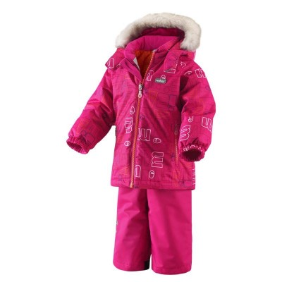 Комплект Reima для девочек зимний steg 513051-258