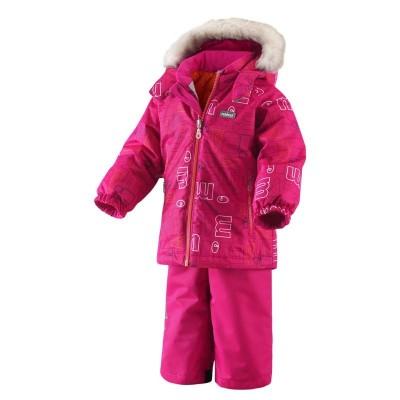 Комплект Reima для мальчиков зимний steg 513051-258