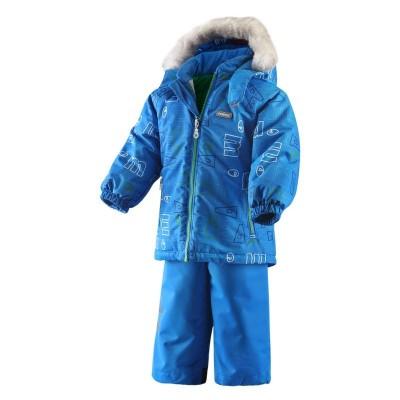 Комплект Reima для девочек зимний steg 513051-610