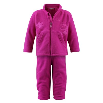 Флисовый комплект Reima для девочек зимний geminio 516019-381