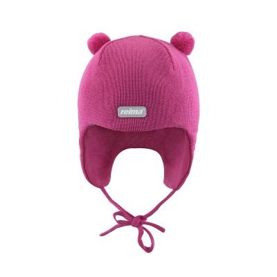 Шапка Reima для девочек зимняя kin 518024-381