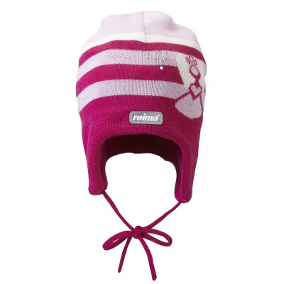 Шапка Reima для девочек зимняя fairie 518040-381