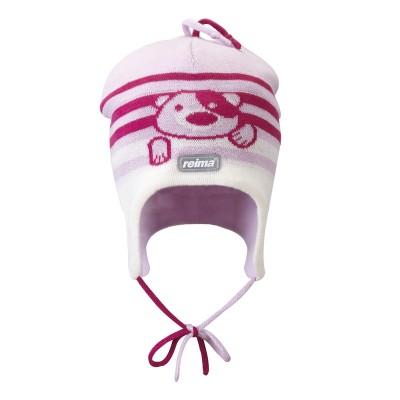 Шапка Reima для девочек зимняя naali 518050-379