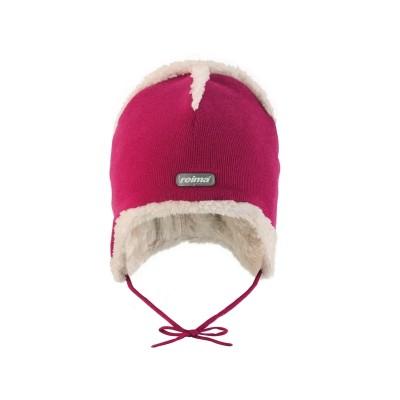 Шапка Reima для девочек зимняя dusk 518100-255