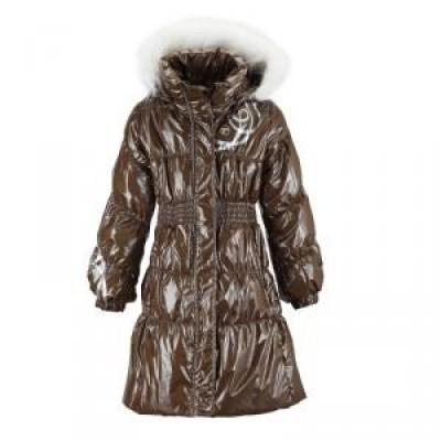 Куртка (пальто) Reima для девочек зимняя kumadori 521056-449