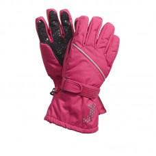Перчатки розовые для девочек
