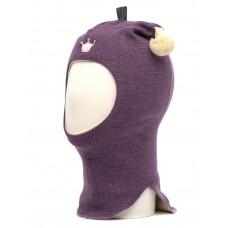 Шапки - шлем фиолетовые Kivat для девочки
