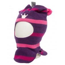 Шлем KIvat для девочки с помпоном