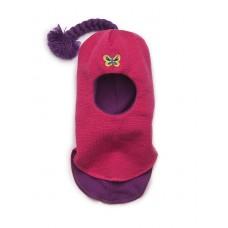 Шапки-шлем ярко-розовый Kivat для девочек