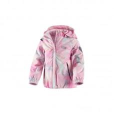 Куртка с розовыми разводами