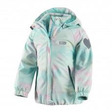 Куртка демисезонная Fairie Reima с мятными разводами, для девочки