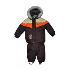 Комплект с защитной планкой от ветра hopp Kerry с нейлоновой подкладкой для мальчиков